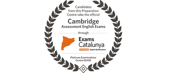 Logotipo centro examinador exámenes de Cambridge