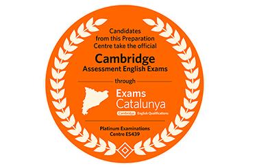 Segell centre autoritzat Exams Catalunya